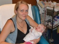 Chelsea in hospital